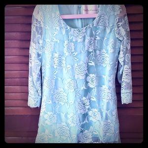 Turquoise Tutu & Lulu Dress